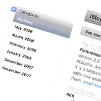 WordPres Sidebar Turned Apple-Flashy Using the jQuery UI