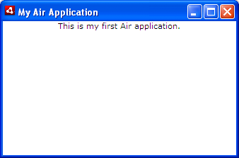 Your Air application running on Windows XP