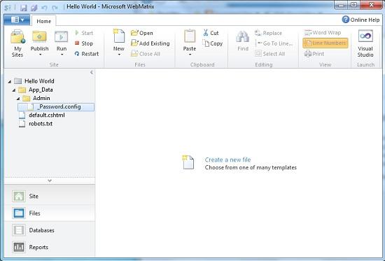 Rename password file