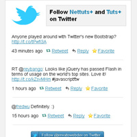 How to Create an Advanced Twitter Widget