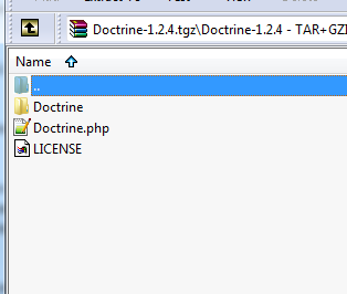 Doctrine download contents