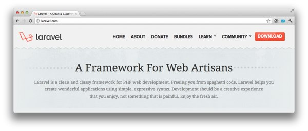 Laravel Website
