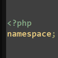 Namespacing in PHP
