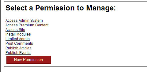Permissions Form