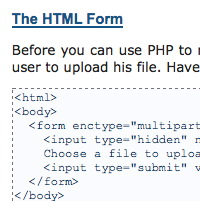 PHP secure File Upload