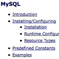 Installing MySQL