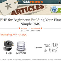 Building Your First Simple CMS