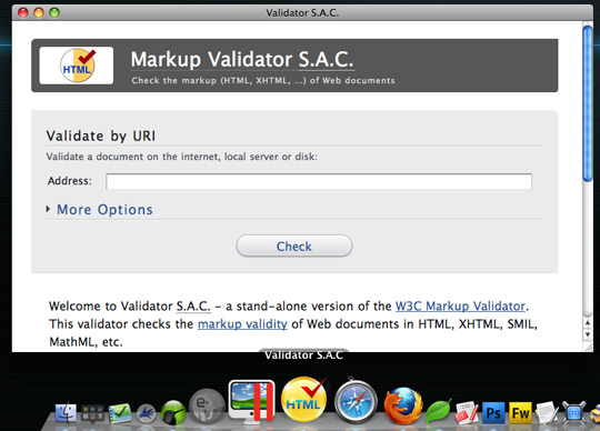 Validator S.A.C.
