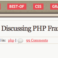 Discussing PHP frameworks