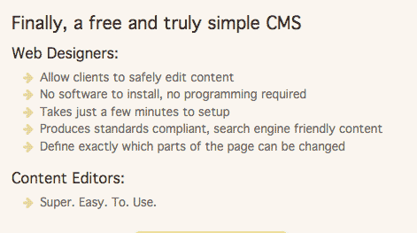Cushy CMS