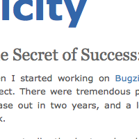 The Secret of Success: Suck Less
