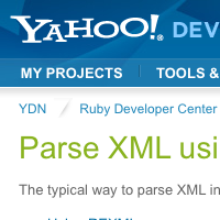 Parse XML using Ruby