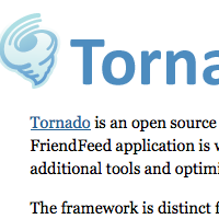 The technology behind Tornado, FriendFeed's web server