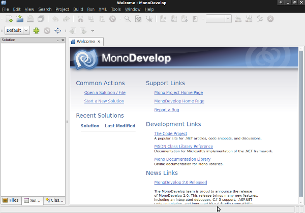 MonoDevelop