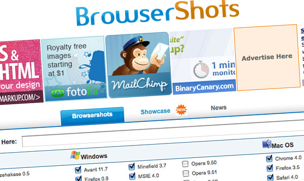Browsershots