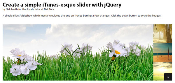 Create a Simple iTunes-like Slider