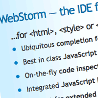 Quick Tip: My Favorite New IDE: WebStorm