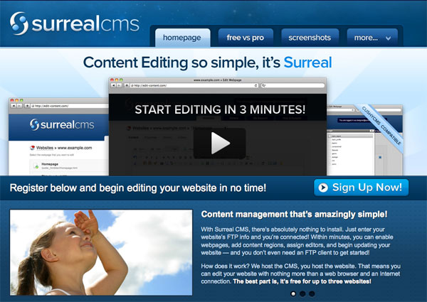 SurrealCMS