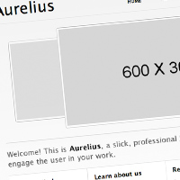 "Free ""Aurelius"" Website Template"