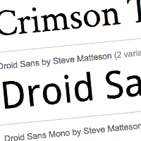Quick Tip: Google Fonts API: You're Going to Love This