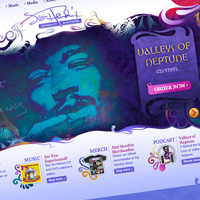 Inspiration: The Top 36 Musician Web Designs