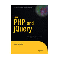 "Winners Announced: Free Copies of ""Pro PHP and jQuery"""