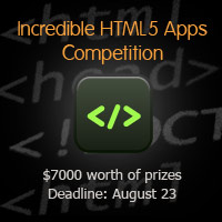 Winners Announced: Build an Incredible HTML5 App: $7000 Competition