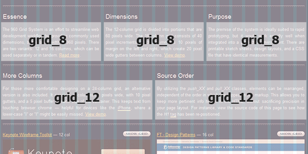 example application of grid_xx classes