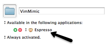 Limit group to Espresso