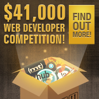 Reminder: $41,000 Web Developer Competition