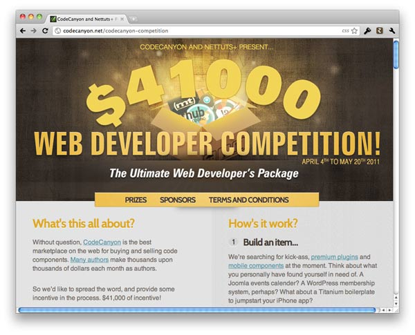 $41000 Web Development Competition