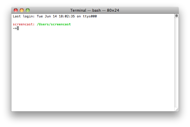 Mac Customized Terminal