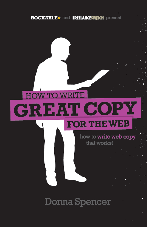 How to Write Great Copy for the Web Cover