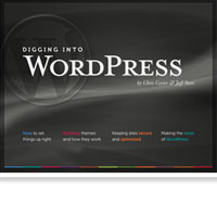 Digging into WordPress: Now On Premium